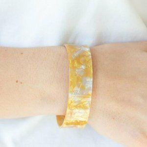 Glaze Daze Yellow Bracelet